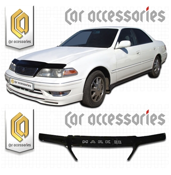 Изображение Дефлектор капота Toyota Mark-2, X100-X105, 1996-2000 черный