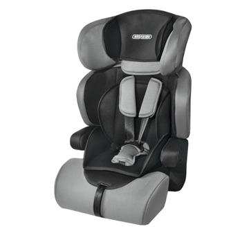 Изображение Автокресло детское 1/2/3гр SKYWAY PROTECT BABY (9-36кг / 1-10 лет) Черно/Серое