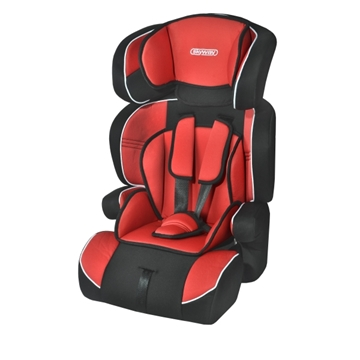 Изображение Автокресло детское 1/2/3гр SKYWAY PROTECT BABY (9-36кг / 1-10 лет) Черно/ Красное