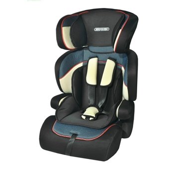Изображение Автокресло детское 1/2/3гр SKYWAY PROTECT BABY (9-36кг / 1-10 лет) Черное/Синее