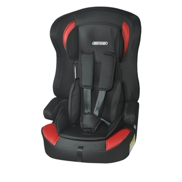 Изображение Автокресло детское 1/2/3гр SKYWAY PROTECT BABY (9-36кг / 1-10 лет) Черно/Красное S02801007