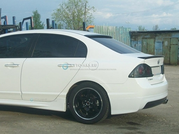 Изображение Спойлер лип Honda Civic 4d (2006-2012)