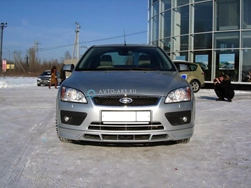 Изображение Юбка переднего бампера Ford Focus 2 (2004-2008) FT