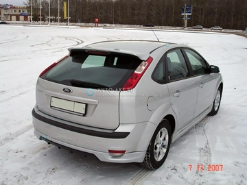 Изображение Юбка заднего бампера (хетчбек) Ford Focus 2 (2004-2008) FT