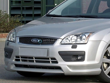 "Изображение Юбка переднего бампера Ford Focus 2 (2004-2008) ""MS"""