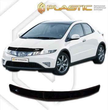 Изображение Дефлектор капота Honda Civic 5D 2007-2012