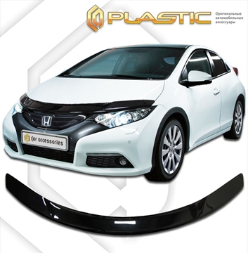 Изображение Дефлектор капота Honda Civic 5D 2012–н.в.